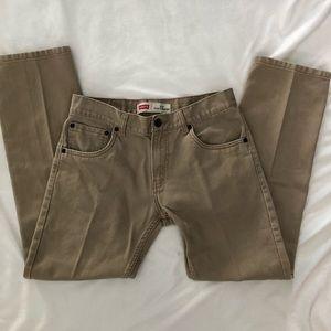 Levi's Jeans - Levi's 513 slim straight jeans 28x28